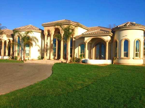 Hyrdoseed Lawn in Sacramento, CA